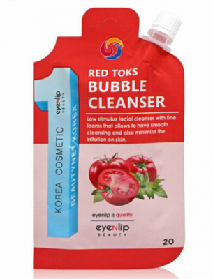 Пенка для умывания Eyenlip RED TOKS BUBBLE CLEANSER 20г: фото