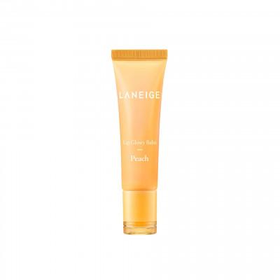 Оттеночный блеск-бальзам для губ Персик LANEIGE Lip Glowy Balm Peach: фото