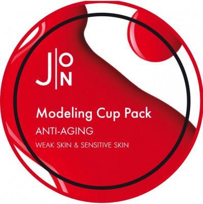 Альгинатная маска АНТИВОЗРАСТНАЯ J:ON ANTI-AGING MODELING PACK 18г: фото
