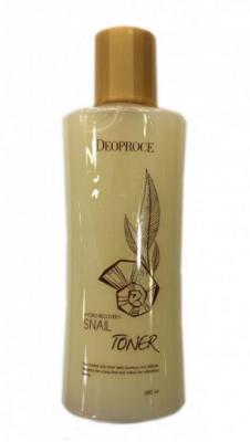 Тонер для лица улиточный DEOPROCE HYDRO RECOVERY SNAIL TONER 380мл: фото