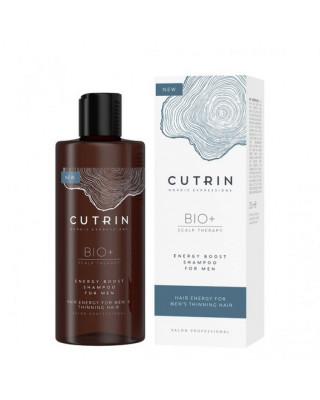 Шампунь-бустер для укрепления волос у мужчин Cutrin BIO+ Energy Boost 250 мл: фото