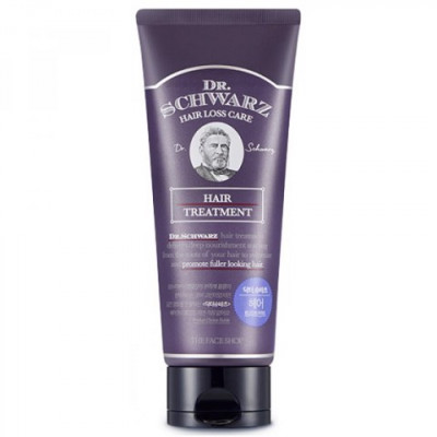 Маска для волос лечебная The Face Shop Dr.Schwarz Hair Treatment 200 мл: фото
