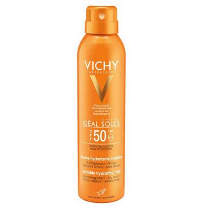 Спрей-вуаль увлажняющий VICHY CAPITAL IDEAL SOLEIL SPF50 200мл: фото