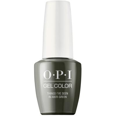 Гель лак для ногтей OPI GelColor Things I've seen in aber-green 15 мл: фото