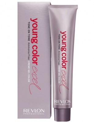 Крем-гель полуперманентный Revlon Professional Young Color Excel 6.24 Темный Блондин мокка 70мл: фото
