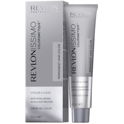 Краска перманентная Revlon Professional Revlonissimo Colorsmetique 7.44 Блондин гипер-Медный 60мл: фото