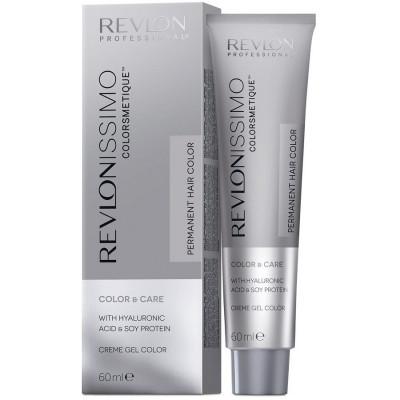 Краска перманентная Revlon Professional Revlonissimo Colorsmetique 2.10 Черный Насыщенно Пепельный 60мл: фото