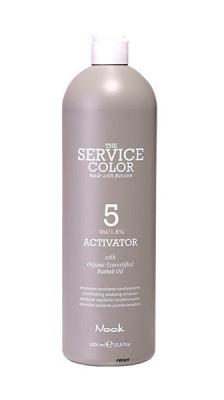 Активатор NOOK Service color ACTIVATOR 5 vol / 1,5% 1000 мл: фото