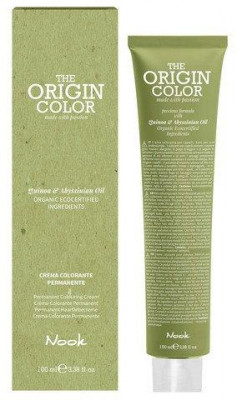 Краска для волос Nook Origin Color Cream 9.3 Золотистый Очень Светлый Блондин 100 мл: фото