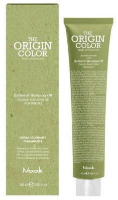 Краска для волос NOOK Origin Color Cream 1.0 Натуральный Черный 100 мл: фото