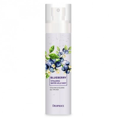 Мист для лица гелевый DEOPROCE BLUEBERRY VITALIZING WATER JELLY MIST 150мл: фото