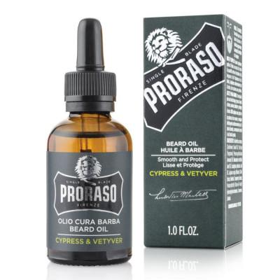 Масло для бороды PRORASO Cypress & Vetyver 30 мл: фото