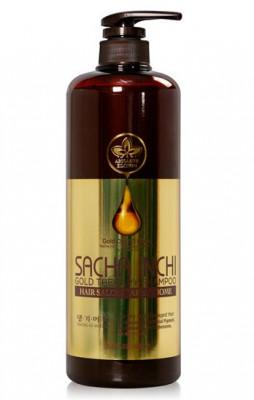 Шампунь для волос Daeng Gi Meo Ri SACHA INCHI GOLD THERAPY SHAMPOO 1000мл: фото