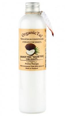 Бальзам-кондиционер безсульфатный с кокосовым маслом ORGANIC TAI Natural Balm-Conditioner Virgin Coconut 260 мл: фото