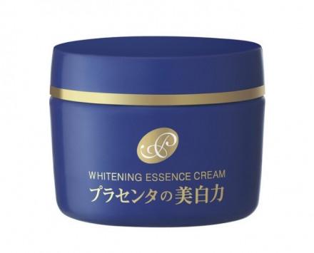Крем-эссенция отбеливающий с экстрактом плаценты Meishoku Placenta Whitening Essence Cream 55 г: фото