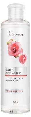 Тонер освежающий с экстрактом розы L'arvore Rose Floral Toner 248 мл: фото
