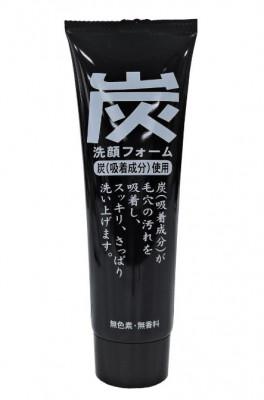 Пенка для умывания с древесным углем JunLove Charcoal Facial Foam 120 г: фото