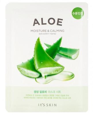 Тканевая маска успокаивающая с алоэ вера It'S SKIN The Fresh Aloe Mask Sheet 18 г: фото