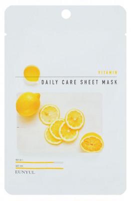 Набор тканевых масок с витаминами EUNYUL VITAMIN DAILY CARE SHEET MASK 22г*3 шт: фото