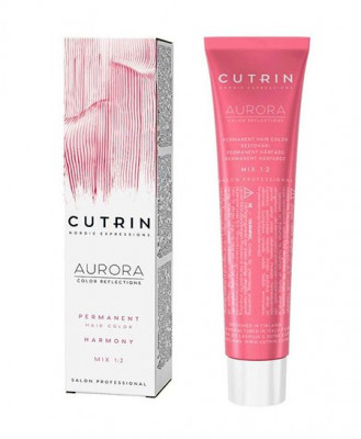 Крем-краска для волос CUTRIN AURORA 5.75 Мятный шоколад 60 мл: фото