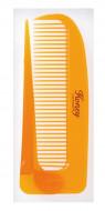 Расчёска для увлажнения и придания блеска волосам с мёдом и маточным молочком пчёл, складная VESS Honey Comb: фото