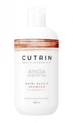 Шампунь для восстановления CUTRIN AINOA NUTRI REPAIR 300 мл: фото