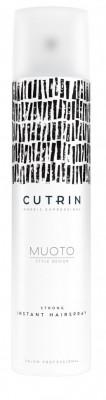 Лак моментальной сильной фиксации CUTRIN MUOTO STRONG INSTANT HAIRSPRAY 300мл: фото