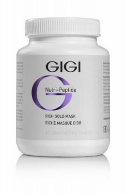 Маска Золотая альгинатная GiGi NUTRI-PEPTIDE Rich Gold Mask 500 мл: фото