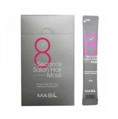 Набор масок для волос Салонный эффект за 8 секунд MASIL 8 SECONDS SALON HAIR MASK stick pouch 8мл*20: фото