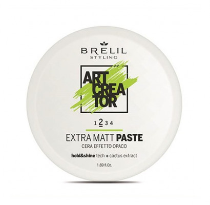 Паста с экстраматовым эффектом Brelil ART CREATOR Extra Matt Paste 50мл: фото
