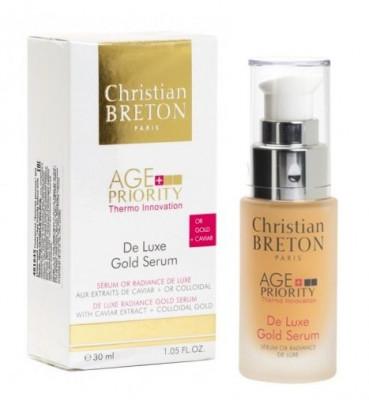 Сыворотка Золотая роскошь для увядающей кожи Christian Breton Age Priority 30мл: фото