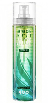 Мист-сыворотка для лица и тела с алоэ DEARBOO Soothing Aloe After-Sun Serum Mist 100 мл: фото