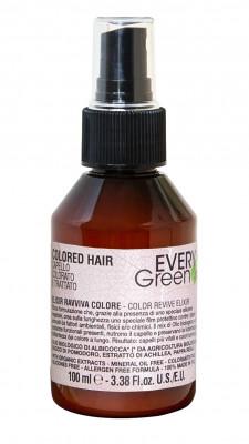Средство для оживления цвета окрашенных волос Dikson EVERY GREEN Elisir ravviva colore 100мл: фото