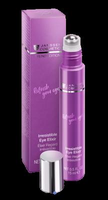Укрепляющий концентрат для контура глаз от морщин, отёков и тёмных кругов JANSSEN COSMETICS Irresistible Eye Elixir 15мл: фото