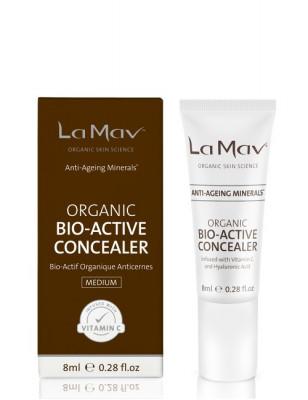 Биоактивный консилер с антиэйдж-эффектом La Mav Certified Organic Bio-Active Concealer Medium, 8 мл: фото