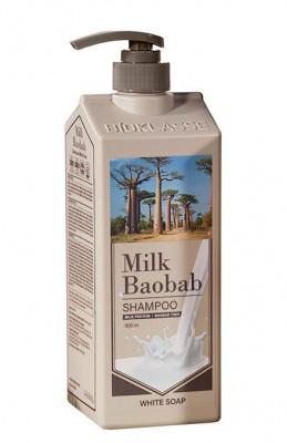 Шампунь для волос с ароматом белого мыла Milk Baobab Perfume Shampoo White Soap 500мл: фото